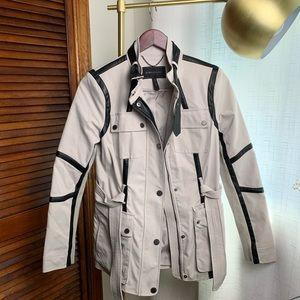 BCBG MAXAZRIA Utility/Rain Jacket